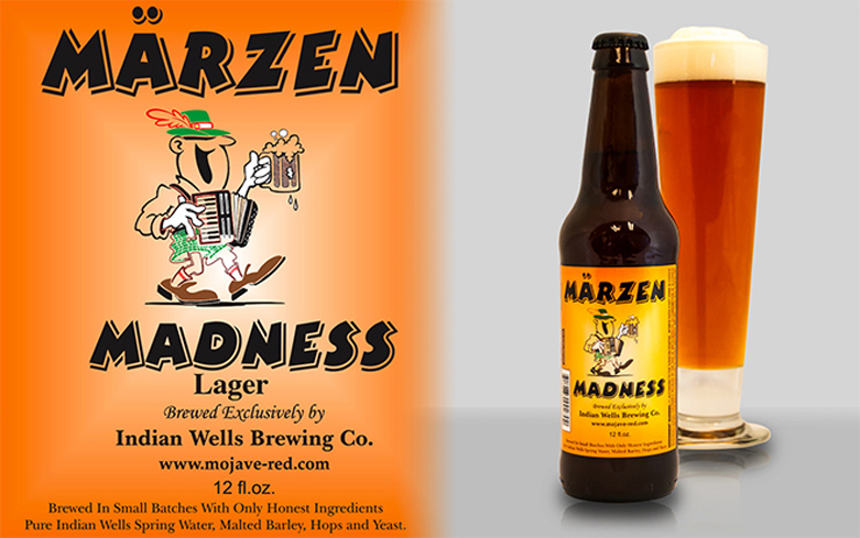 Indian Wells Märzen Madness is one of the few Märzens available year-round