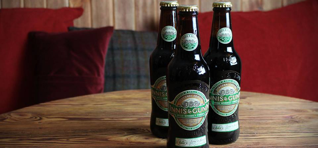 Innis & Gunn Irish Whiskey Cask Scottish Stout makes for an excellent sipping beer