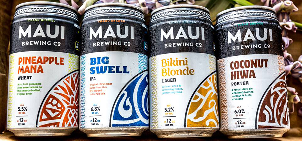 Maui Brewing Co. creates more than 50 different styles of craft beer on a rotating basis