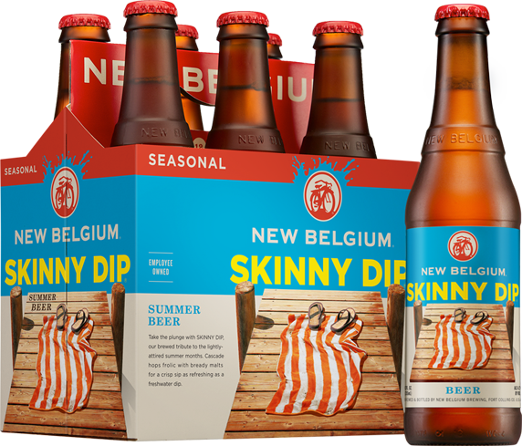 New Belgium Skinny Dip has a complexity that's both citrusy and refreshing
