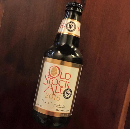 North Coast Old Stock Ale is dessert-like in flavor and richness