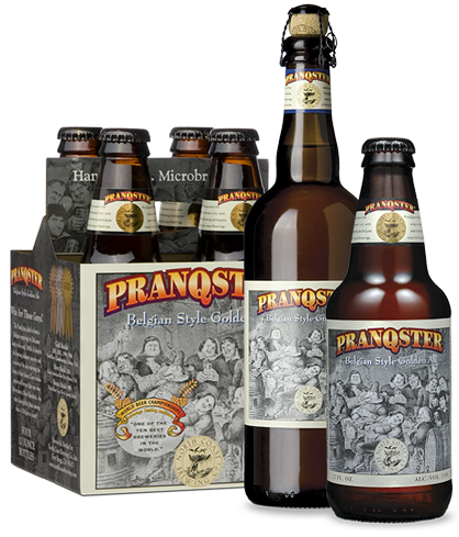North Coast PranQster has notes of notes of coriander, pepper and clove