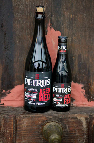 Petrus Aged Red is fermented with fresh cherries