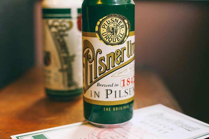 Pilsner Urquell is an iconic lager with noble Saaz hops