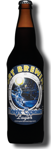 Port Brewing Midnight Expression has notes of light cocoa and citrusy hops