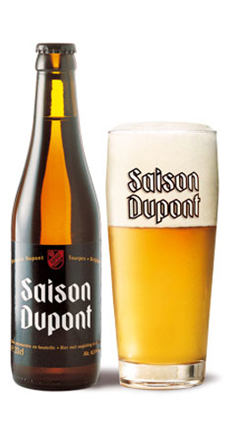 Saison Dupont has a dryness and full carbonation is reminiscent of Champagne