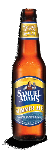 Samuel Adams Summer Ale is a seasonal brew available from March through July