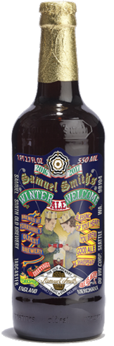 Samuel Smith Winter Welcome Ale has complex earthy aromas
