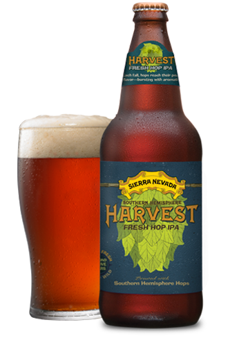 Sierra Nevada Southern Hemisphere Harvest has a spicy flavor that's balanced with maltiness