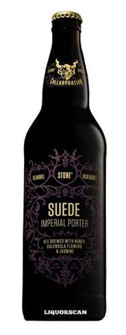 Stone Suede Imperial Porter is infused with avocado honey, dried jasmine and calendula flowers