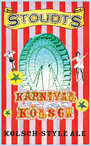 Stoudts Karnival Kolsch is dry and refreshing
