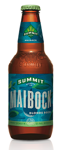 Summit Maibock has a toasted sweetness with a subtle spice and pepper character