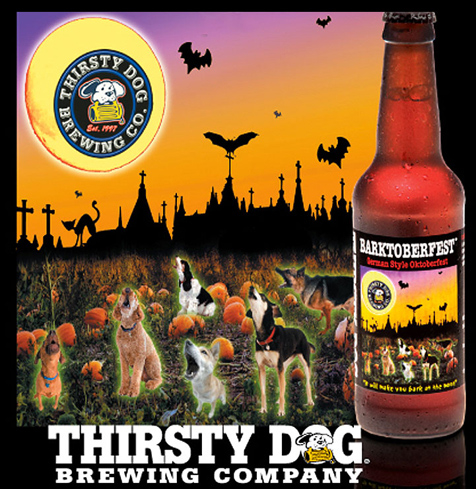 Thirsty Dog Barktoberfest is a standout beer for the Oktoberfest style