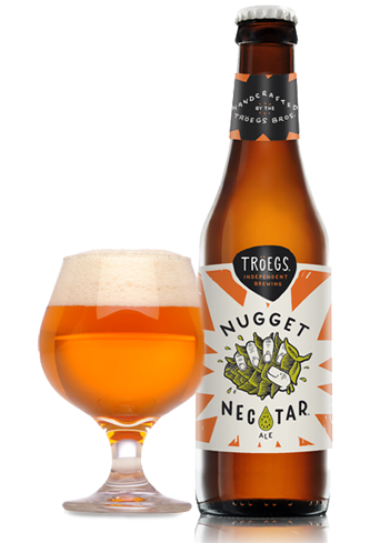 "Tröegs Nugget Nectar is a winter seasonal ""imperial"" spin on their awesome Hopback Amber"