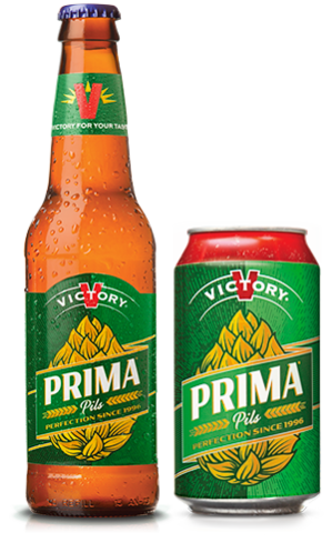 Victory Prima Pils has a biscuity malt core