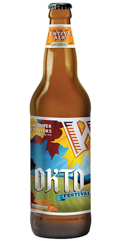 Widmer Brothers Okto Festival Ale has sweet bready malt and caramel flavors