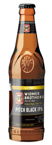 Widmer Brothers Pitch Black IPA pours true to its moniker and allows you to go dark without giving up the hops