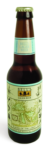 Bell's Lager Beer is matured in fermentation vessels for six weeks