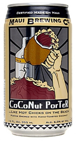 Maui Brewing Co. Coconut Porter is brewed with hand-toasted Hawaiian coconut