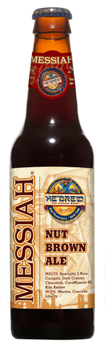 Messiah Nut Brown Ale boasts flavors of nut, caramel and malt