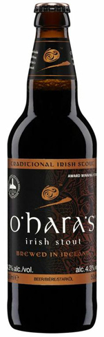 O'Hara's Irish Stout has notes of coffee, chocolate, malt and hops