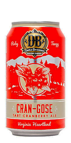 Devils Backbone Cran-Gose is fiendishly tart in flavor