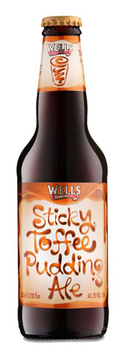 Wells Sticky Toffee Pudding Ale has rich flavors of toffee and caramel