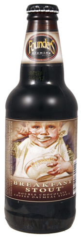 Founders Breakfast Stout is a creamy, coffee-flavored stout
