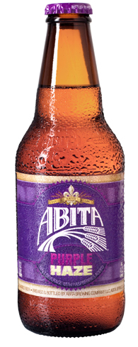 Abita Purple Haze is a light-bodied beer with only 128 calories