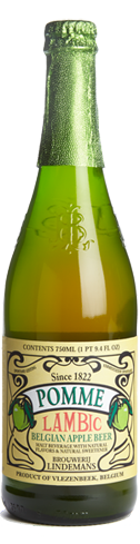 Lindemans Pomme is fermented by a variety of wild yeasts