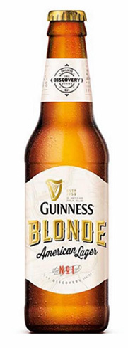 Guinness Blonde American Lager brings the best of both sides of the pond in this light, floral and citrusy brew
