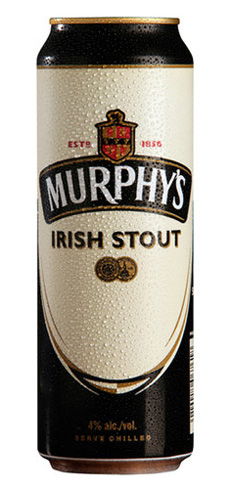 Murphy's Irish Stout is the lightest and sweetest of Ireland's Big three stouts