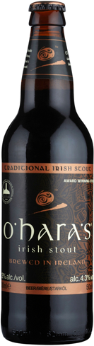 O'Hara's Celtic Stout is robust and full-bodied