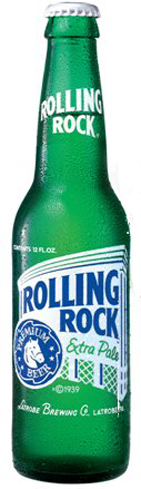 Now brewed in St. Louis, Missouri, Rolling Rock Extra Pale remains a Pennsylvania icon