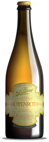 The Bruery Hottenroth Berliner Weisse is a bottle-conditioned German-style sour beer