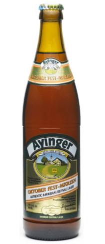 Ayinger Oktober Fest-Märzen is one of the most highly respected Märzens in the world