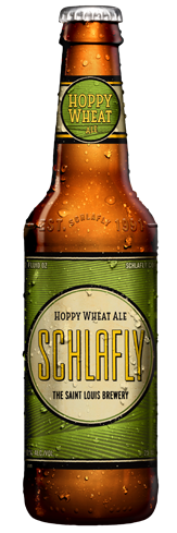 Schlafly Hoppy Wheat Ale brings a hoppy bite