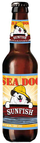 Sea Dog Sunfish is a dry and refreshing ale for a warm spring day