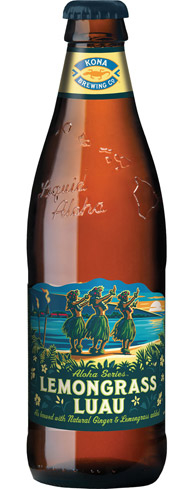 Kona Brewing Lemongrass Luau is an easy-drinking session beer