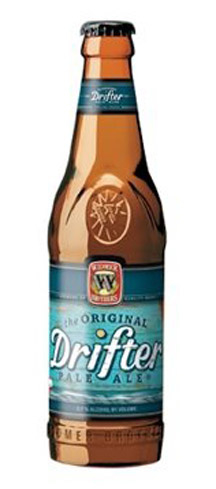Widmer Brothers Drifter Pale Ale has notes of mandarin orange and grapefruit