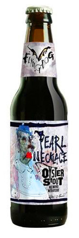 Proceeds from the sale of Flying Dog Pearl Necklace Oyster Stout benefit the Oyster Recovery Partnership of the Chesapeake Bay