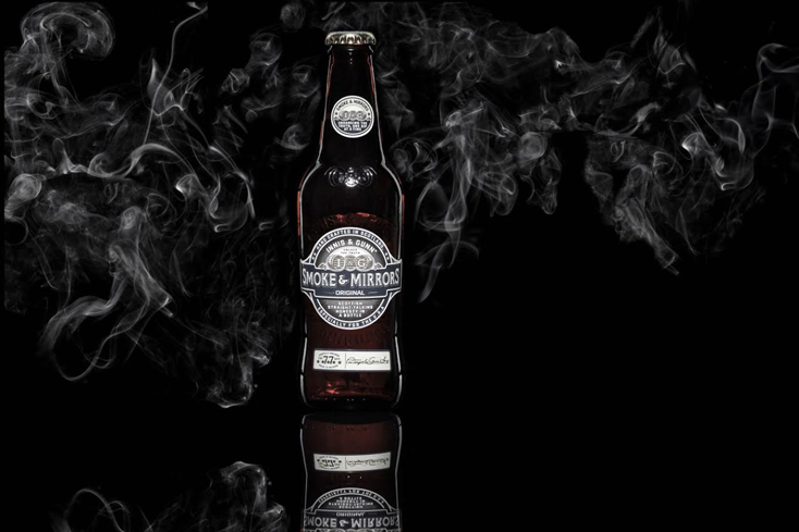 Innis & Gunn Smoke & Mirrors is brewed with three natural ingredients that are said to be truth-telling enhancers