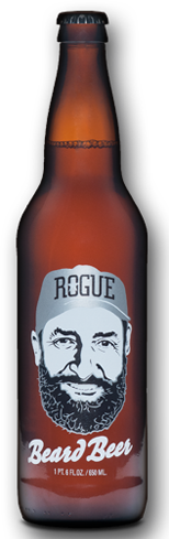 Beard Beer is made with a yeast created from Rogue Ales' Brewmaster John Maier's beard