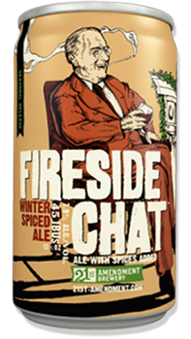 Fireside Chat by 21st Amendment Brewery is one winter beer that should never be repealed