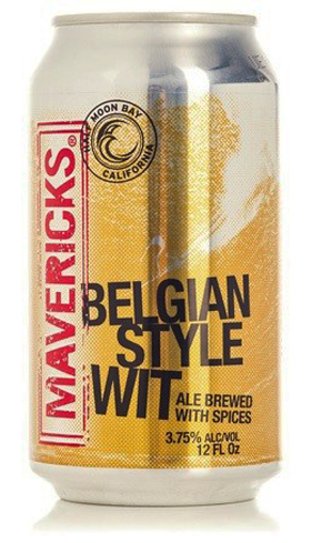 Mavericks Belgian Style Wit is an easy-drinking session beer with a surprising amount of flavor