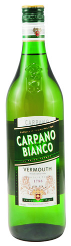Carpano Bianco Vermouth has rich fruit aromas mixed with hints of almond and cocoa