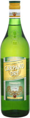 Carpano Dry Vermouth is enriched by the addition of raw materials
