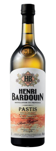 Henri Bardouin Pastis is a balance of 65 plants and spices