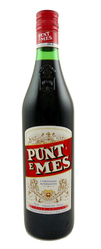 Punt e Mes is one part vermouth and a half part of bitters