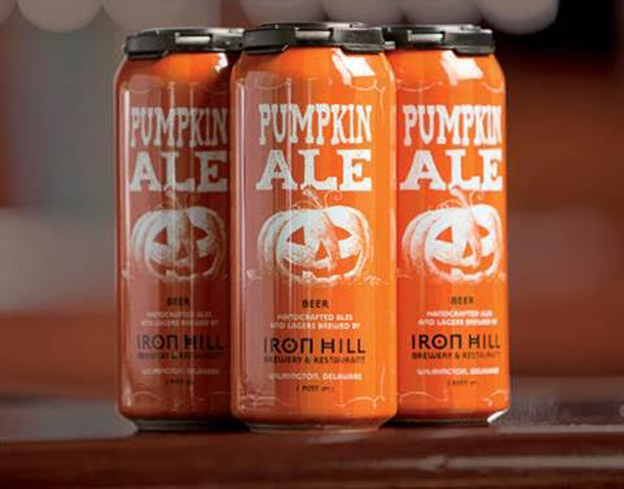 Iron Hill Pumpkin Ale has a moderate malty sweetness